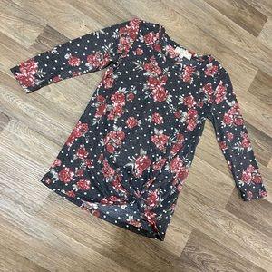 NWOT Floral Shirt
